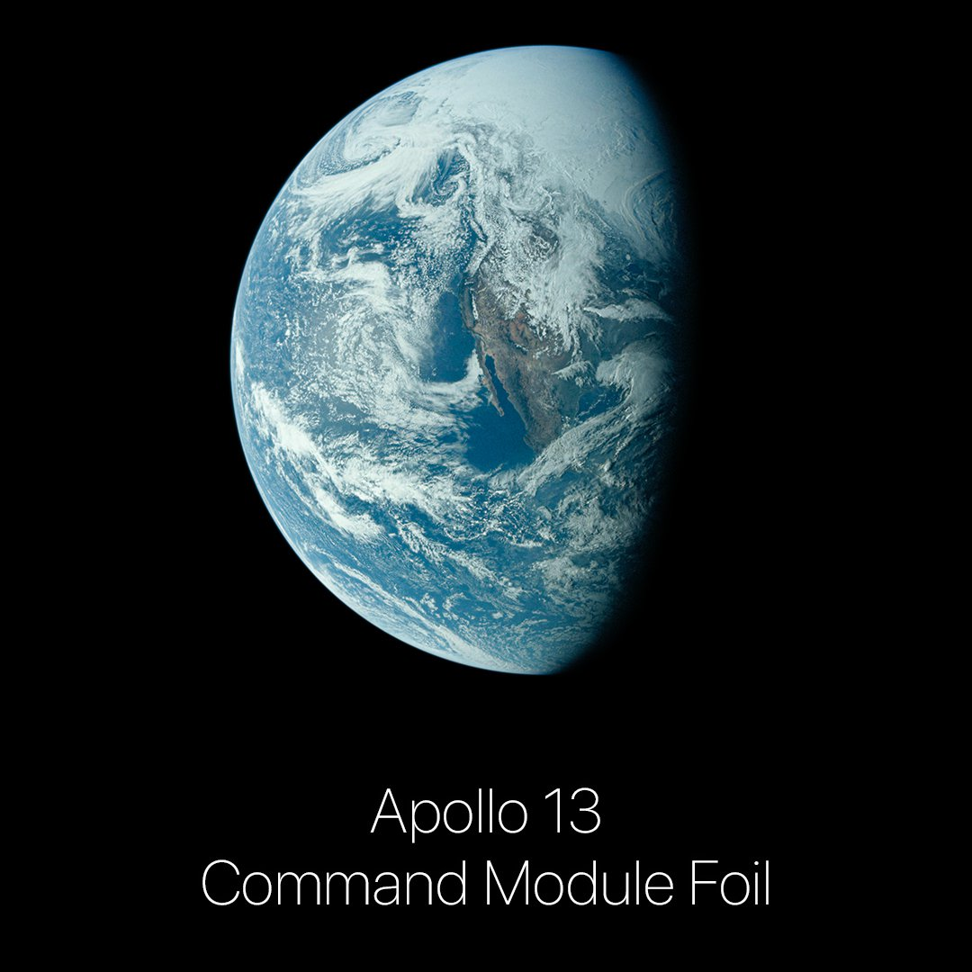 Apollo 13 Command Module Foil!