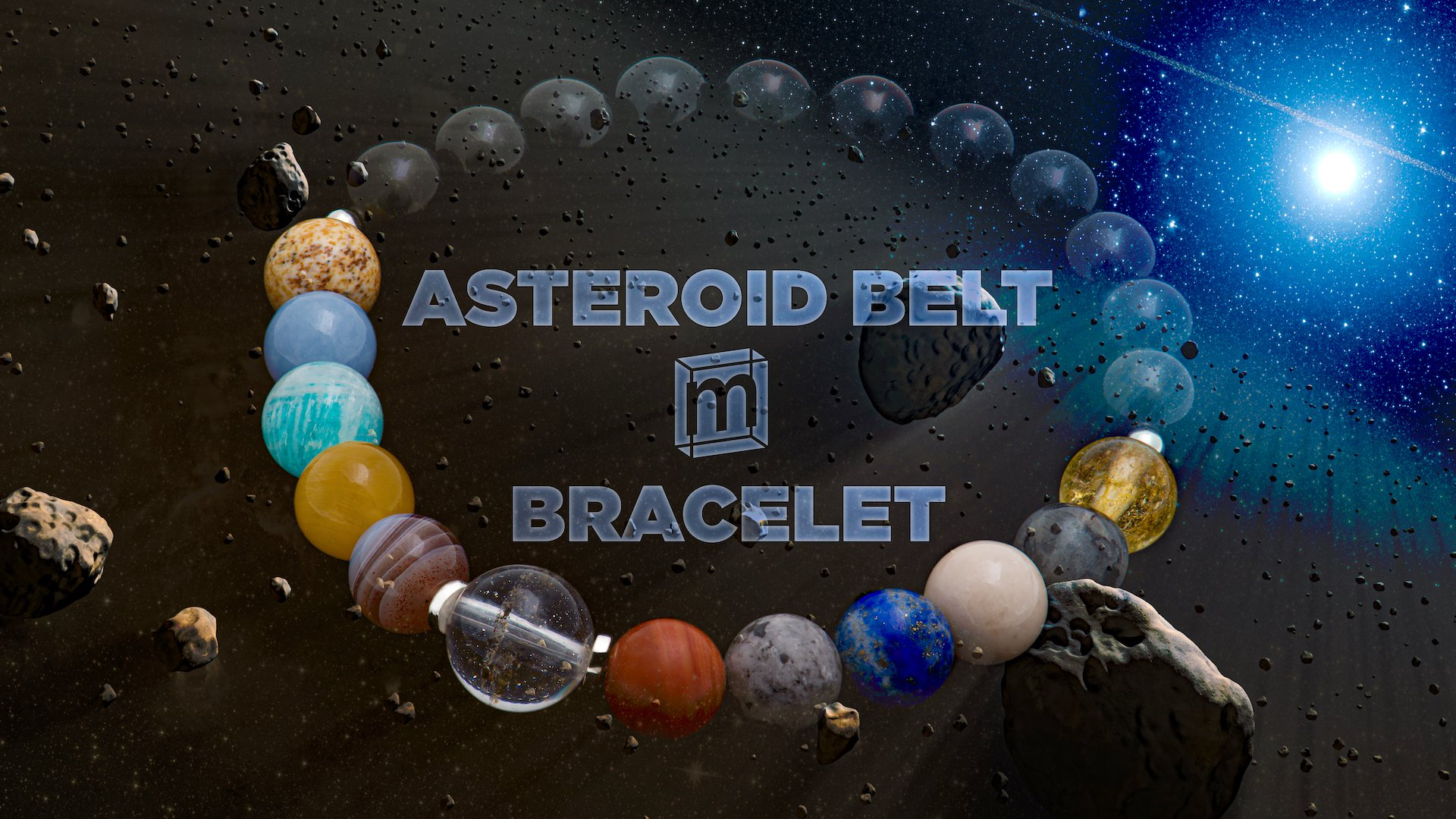 Mini Museum Asteroid Belt Bracelet