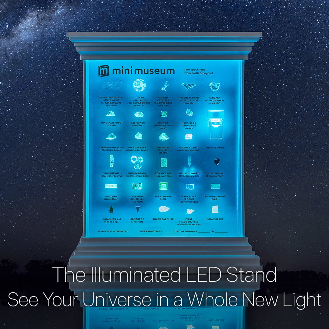 The Illuminated LED Stand
