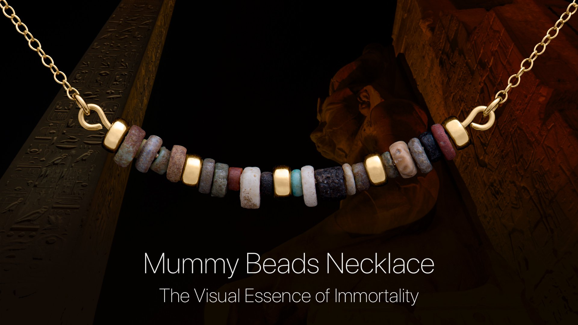 Mummy Beads Necklace