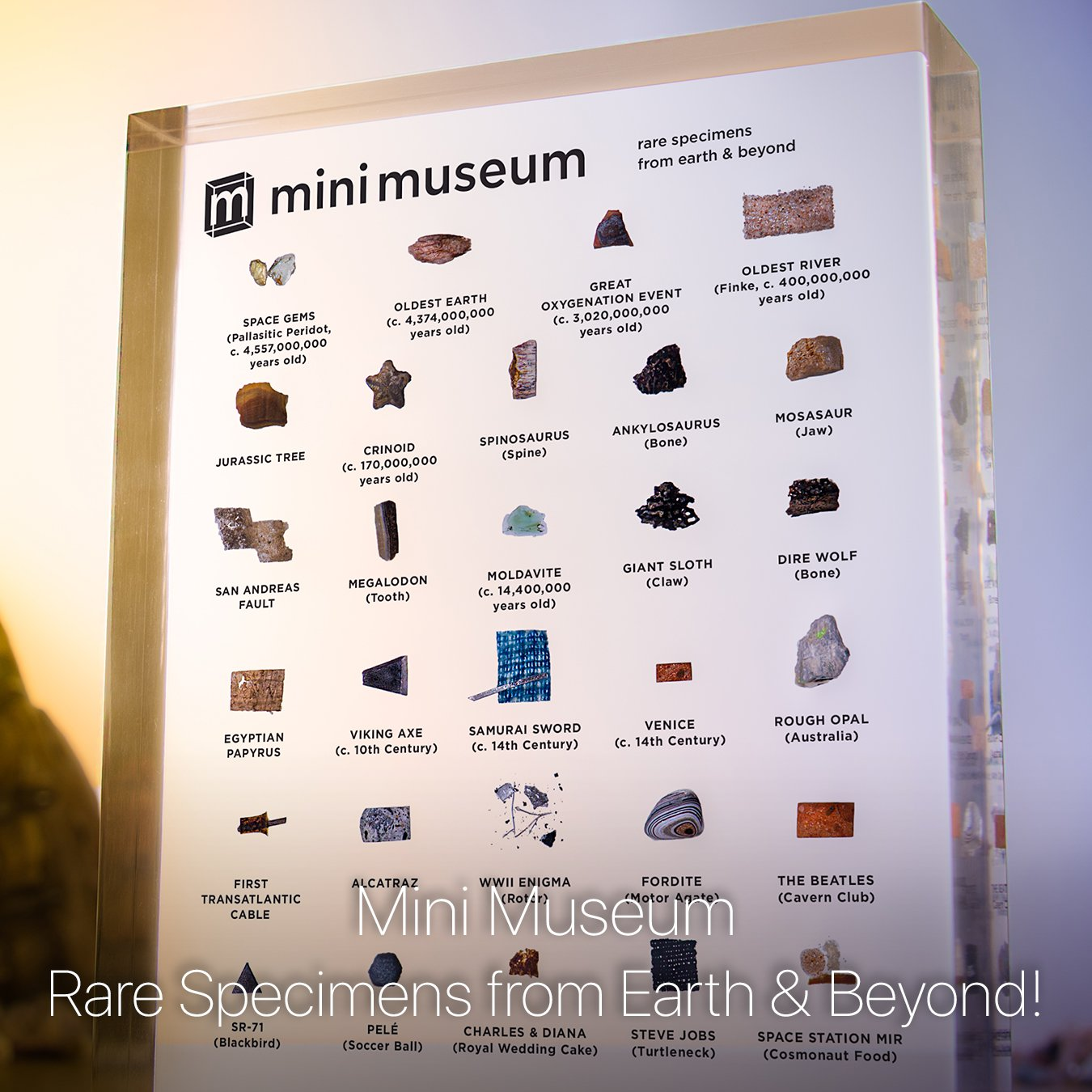Learn more about the Third Edition of the Mini Museum!