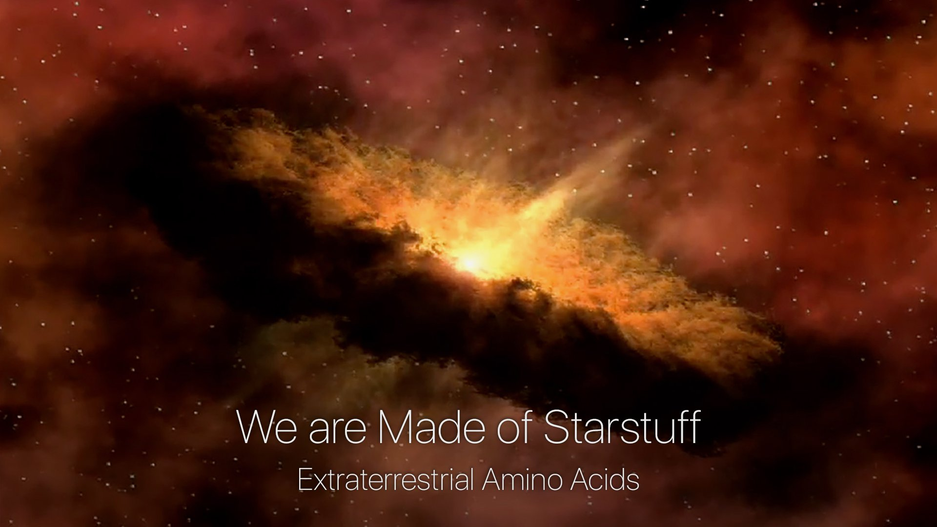e are Made of Starstuff - Extraterrestrial Amino Acids from the Fourth Edition