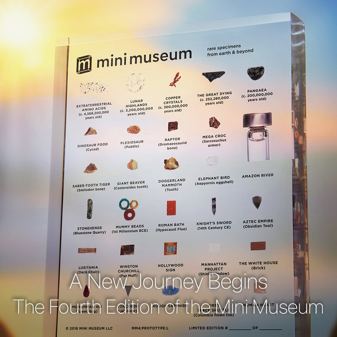 Learn more about the Fourth Edition of the Mini Museum!